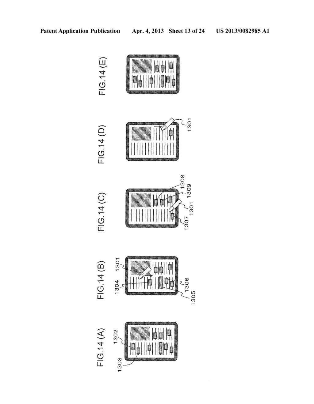 CONTENT DISPLAY APPARATUS, AND CONTENT DISPLAY METHOD - diagram, schematic, and image 14