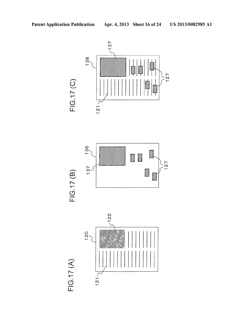 CONTENT DISPLAY APPARATUS, AND CONTENT DISPLAY METHOD - diagram, schematic, and image 17