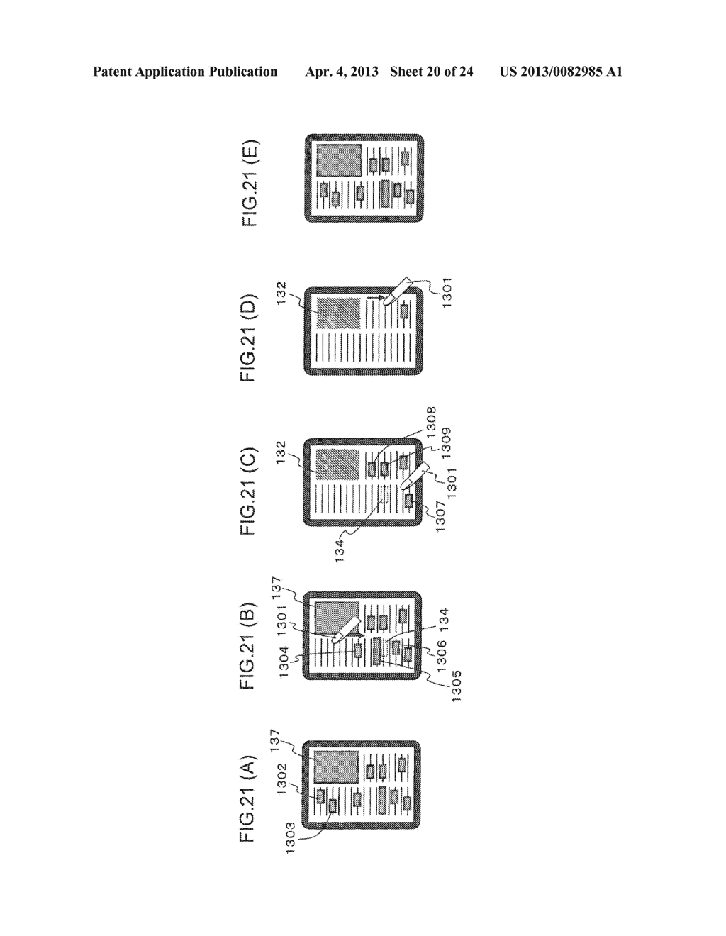 CONTENT DISPLAY APPARATUS, AND CONTENT DISPLAY METHOD - diagram, schematic, and image 21