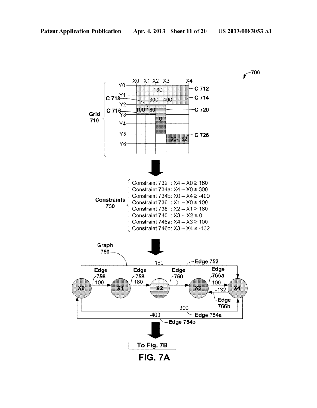 METHODS AND APPARATUS FOR GENERAL SOLUTION OF THE TWO-DIMENSIONAL LAYOUT     PROBLEM BY REDUCTION TO A SINGLE-SOURCE PATH-LENGTH PROBLEM ON A WEIGHTED     GRAPH - diagram, schematic, and image 12