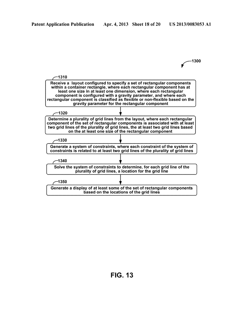 METHODS AND APPARATUS FOR GENERAL SOLUTION OF THE TWO-DIMENSIONAL LAYOUT     PROBLEM BY REDUCTION TO A SINGLE-SOURCE PATH-LENGTH PROBLEM ON A WEIGHTED     GRAPH - diagram, schematic, and image 19