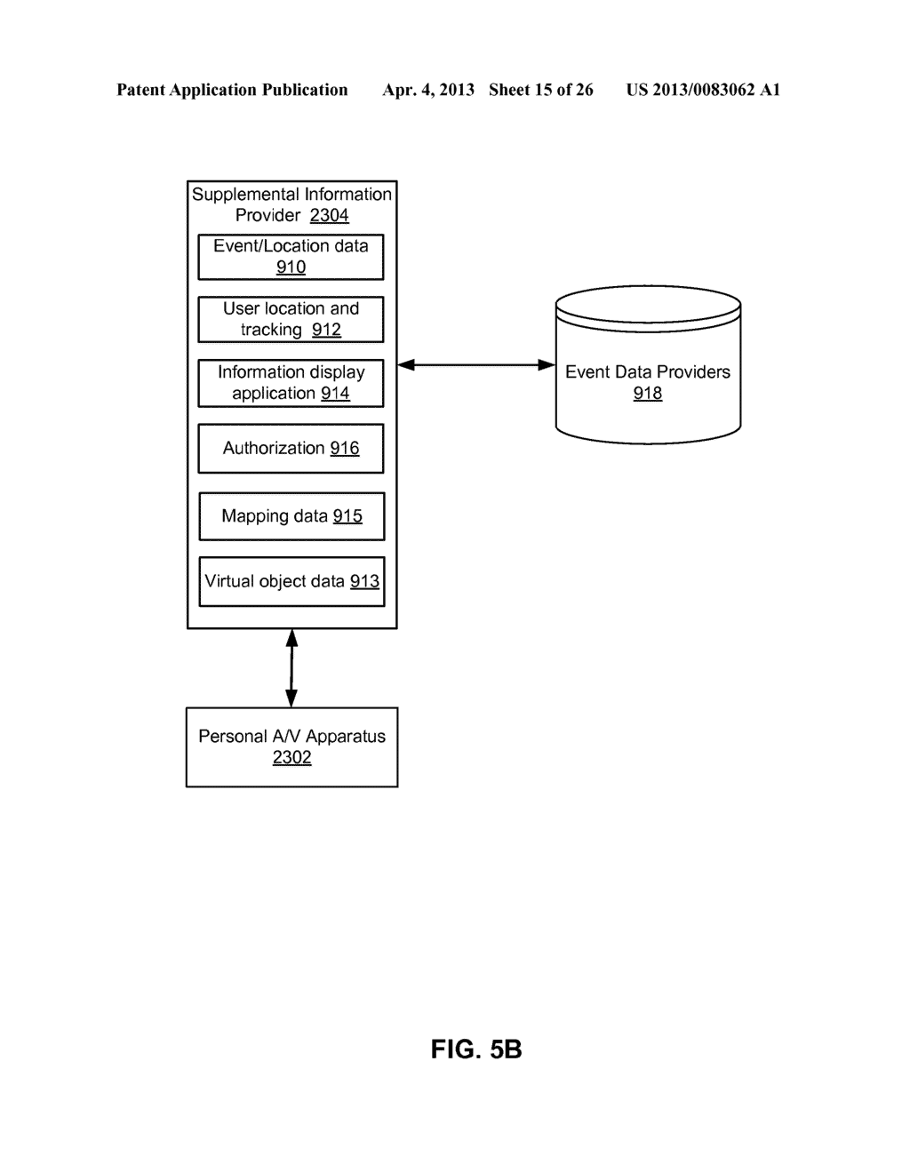 PERSONAL A/V SYSTEM WITH CONTEXT RELEVANT INFORMATION - diagram, schematic, and image 16