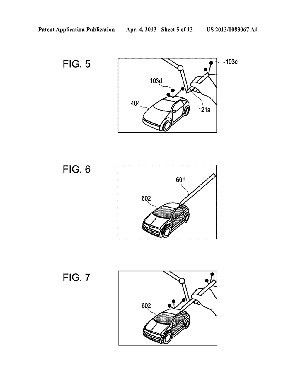 INFORMATION PROCESSING METHOD AND DEVICE FOR PRESENTING HAPTICS RECEIVED     FROM A VIRTUAL OBJECT - diagram, schematic, and image 06