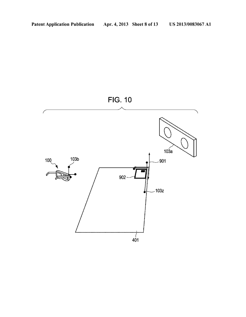 INFORMATION PROCESSING METHOD AND DEVICE FOR PRESENTING HAPTICS RECEIVED     FROM A VIRTUAL OBJECT - diagram, schematic, and image 09