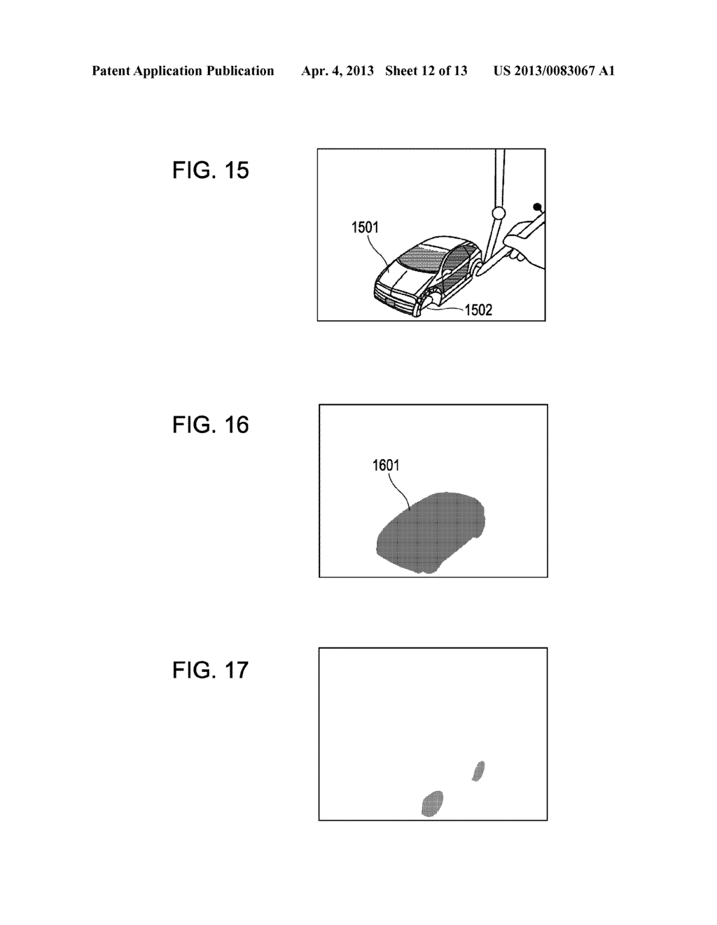 INFORMATION PROCESSING METHOD AND DEVICE FOR PRESENTING HAPTICS RECEIVED     FROM A VIRTUAL OBJECT - diagram, schematic, and image 13