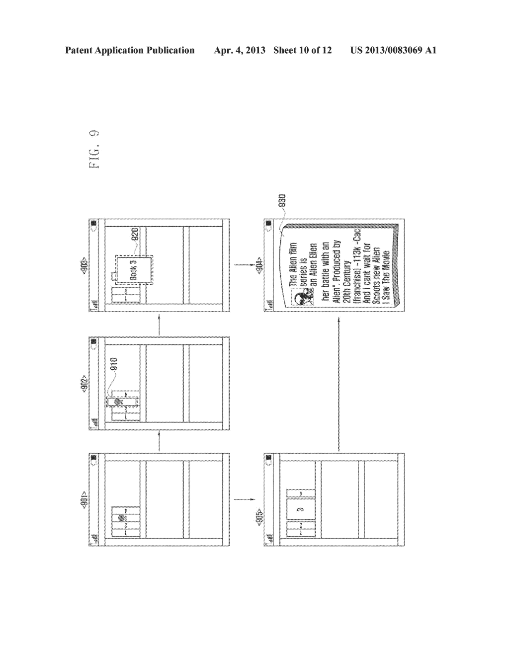 METHOD AND APPARATUS FOR INTERACTIVELY DISPLAYING  ELECTRONIC FILE IMAGES - diagram, schematic, and image 11