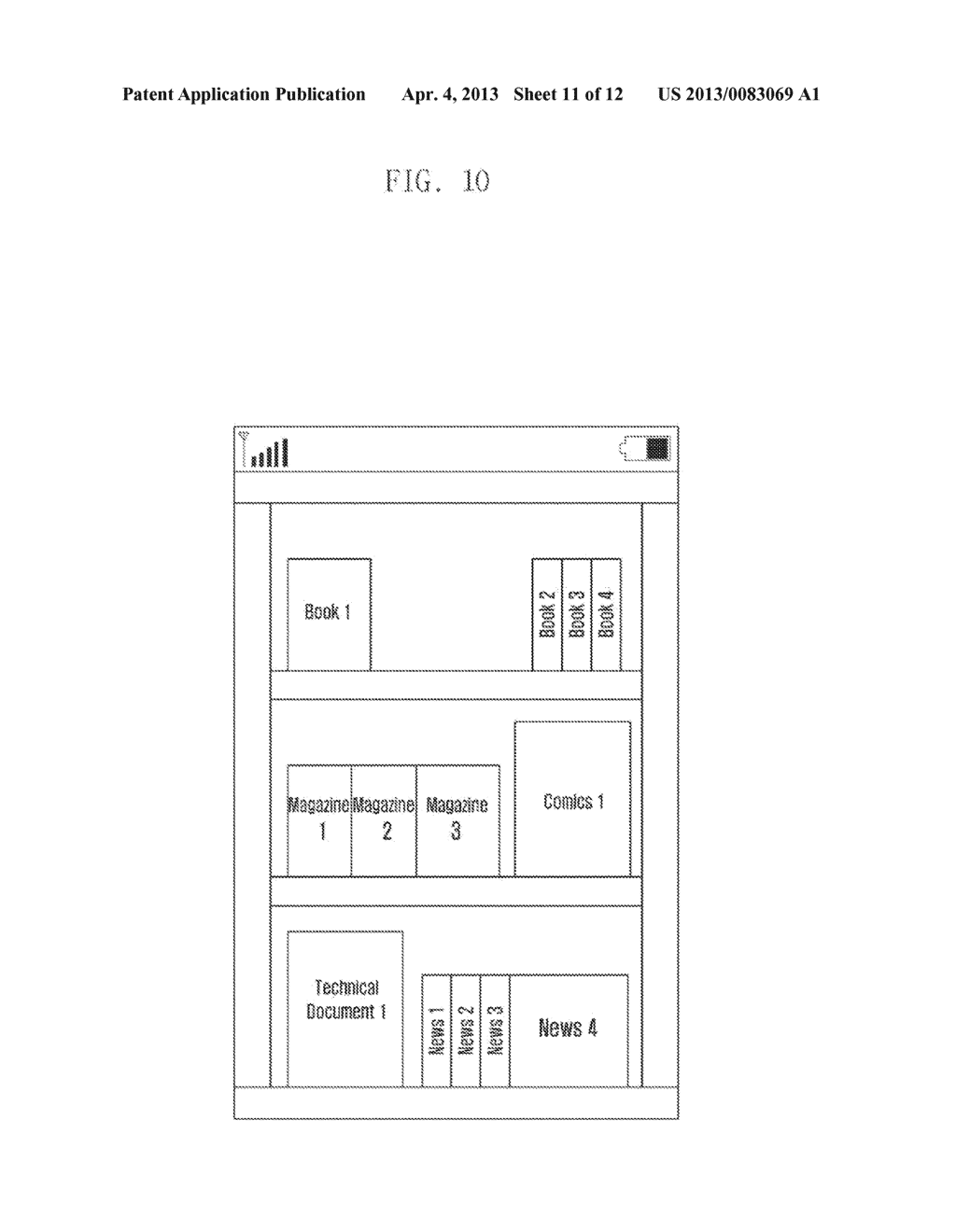 METHOD AND APPARATUS FOR INTERACTIVELY DISPLAYING  ELECTRONIC FILE IMAGES - diagram, schematic, and image 12