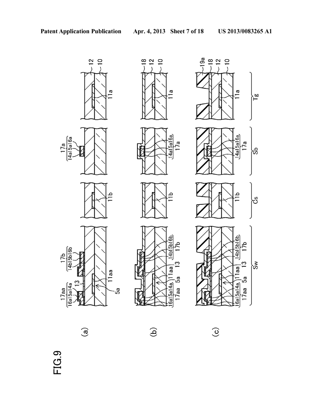 ACTIVE MATRIX SUBSTRATE, METHOD FOR FABRICATING THE SAME, AND LIQUID     CRYSTAL DISPLAY PANEL - diagram, schematic, and image 08