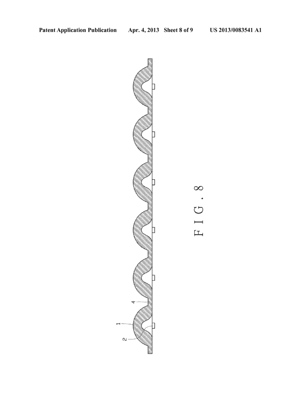 OPTICAL LENS, LIGHT-EMITTING DIODE OPTICAL COMPONENT AND LIGHT-EMITTING     DIODE ILLUMINATION LAMP - diagram, schematic, and image 09