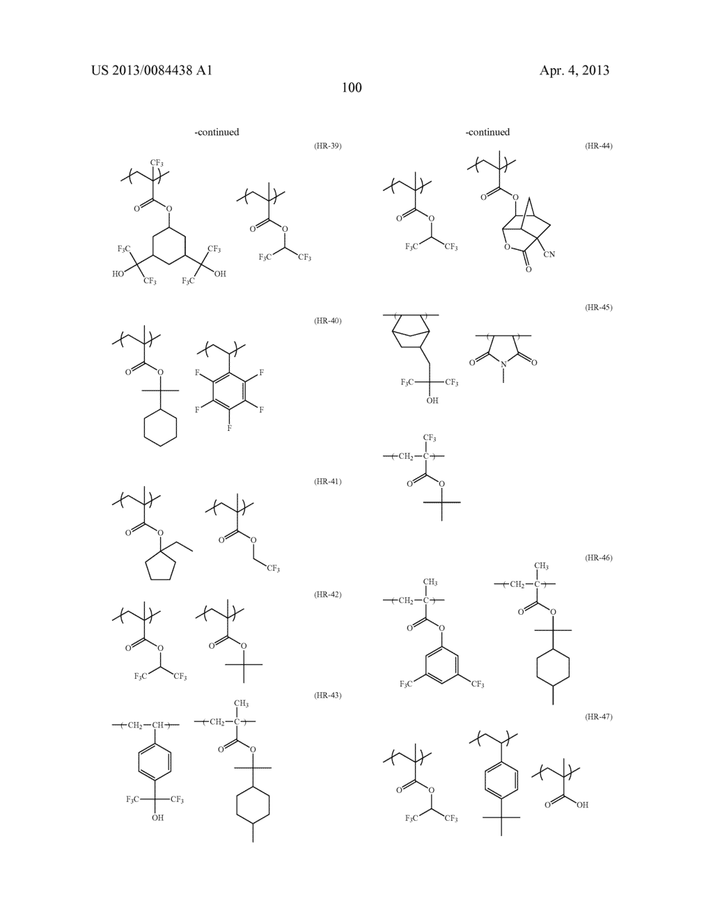 PATTERN FORMING METHOD, ELECTRON BEAM-SENSITIVE OR EXTREME     ULTRAVIOLET-SENSITIVE COMPOSITION, RESIST FILM, MANUFACTURING METHOD OF     ELECTRONIC DEVICE, AND ELECTRONIC DEVICE - diagram, schematic, and image 101