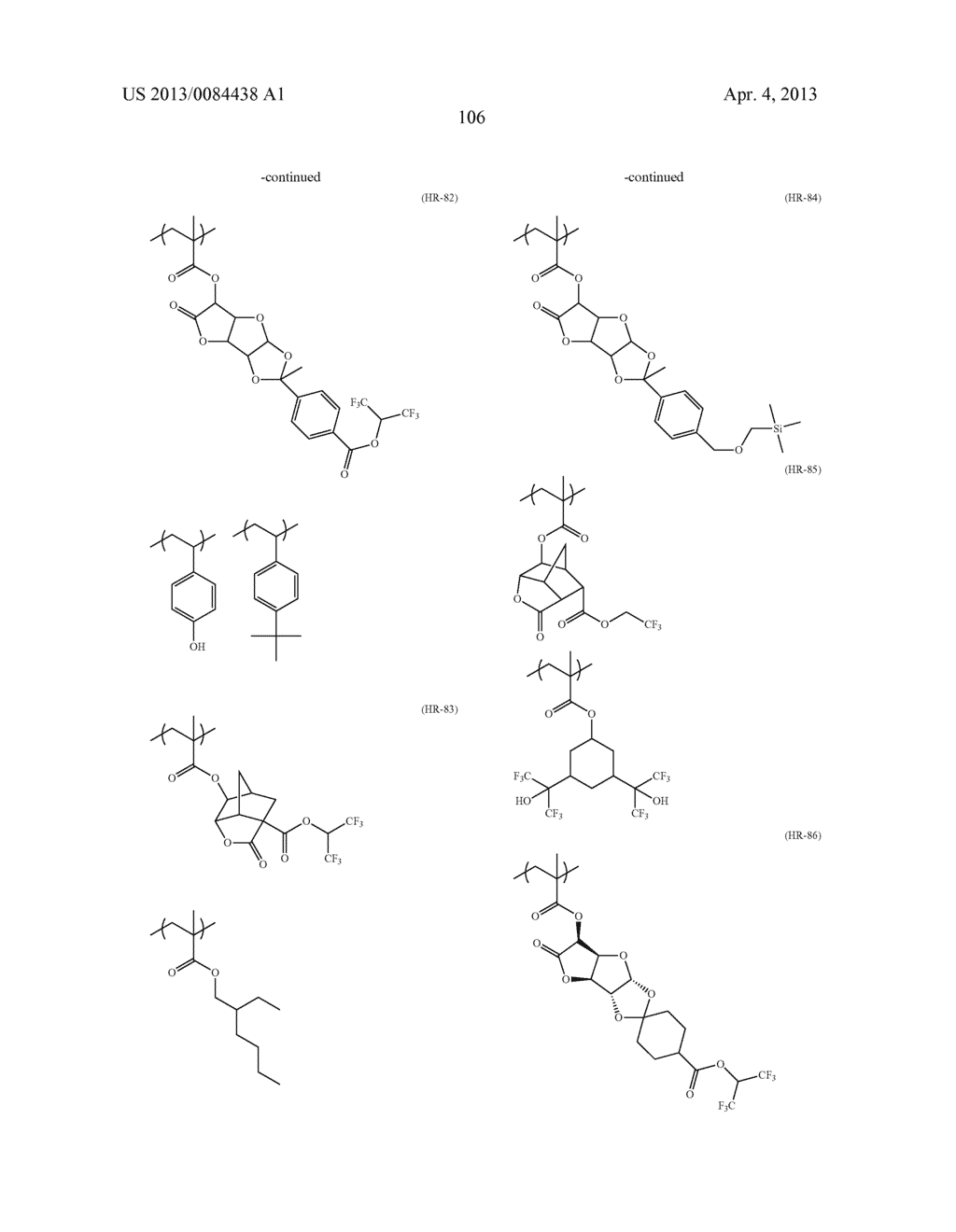 PATTERN FORMING METHOD, ELECTRON BEAM-SENSITIVE OR EXTREME     ULTRAVIOLET-SENSITIVE COMPOSITION, RESIST FILM, MANUFACTURING METHOD OF     ELECTRONIC DEVICE, AND ELECTRONIC DEVICE - diagram, schematic, and image 107