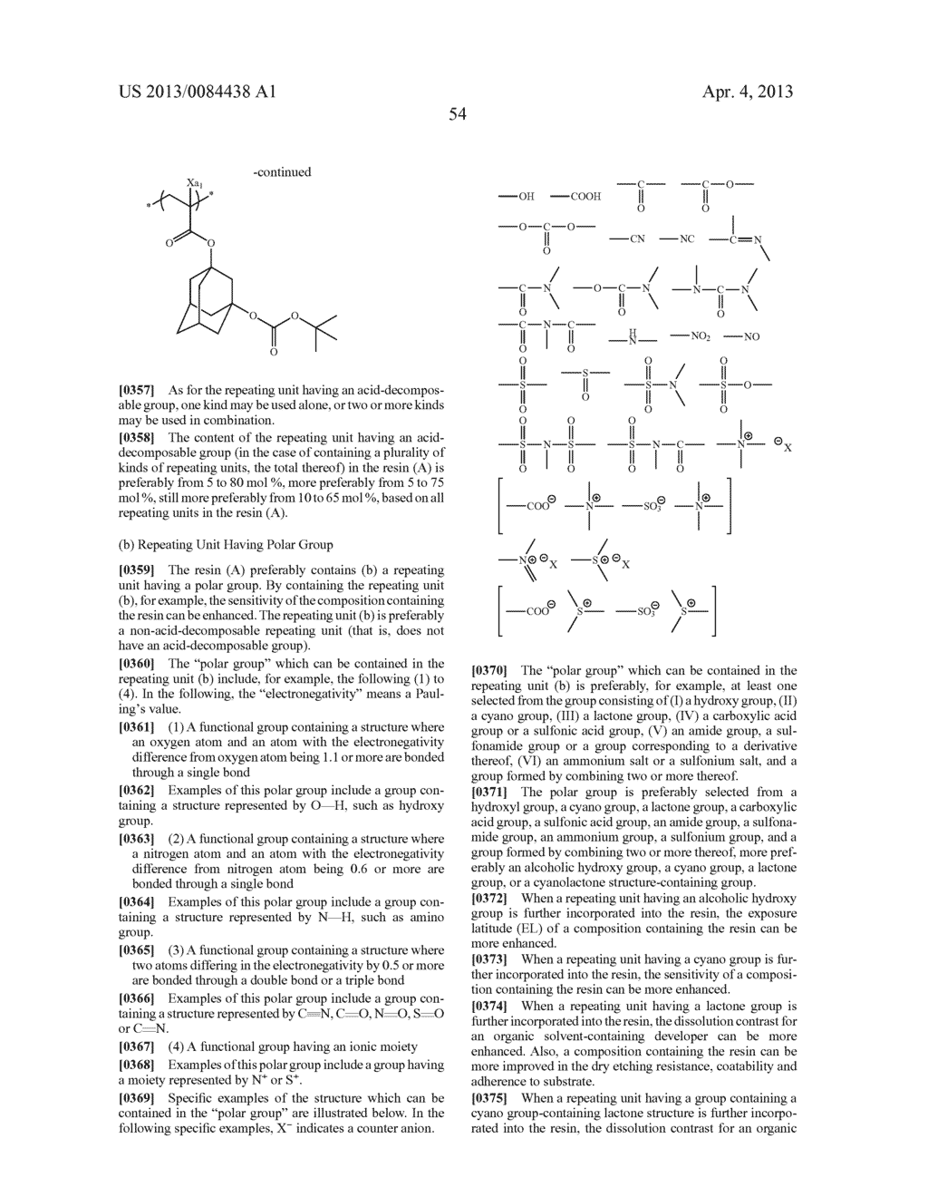 PATTERN FORMING METHOD, ELECTRON BEAM-SENSITIVE OR EXTREME     ULTRAVIOLET-SENSITIVE COMPOSITION, RESIST FILM, MANUFACTURING METHOD OF     ELECTRONIC DEVICE, AND ELECTRONIC DEVICE - diagram, schematic, and image 55