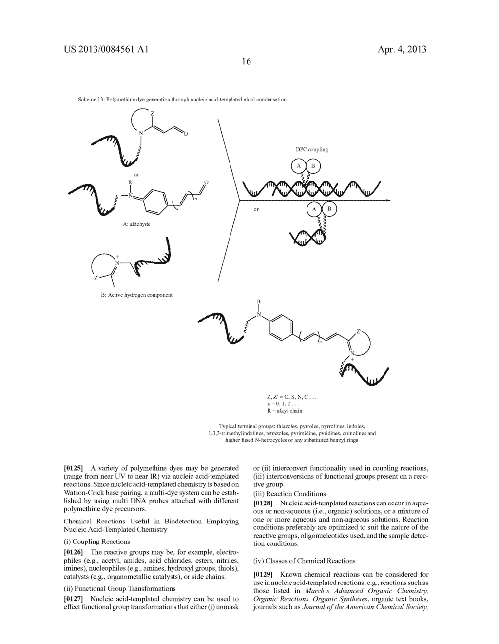 BIODETECTION BY NUCLEIC ACID-TEMPLATED CHEMISTRY - diagram, schematic, and image 55