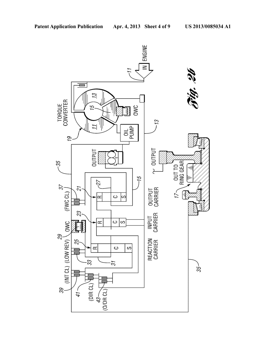 Ratio Shift Control System And Method For A Multiple-Ratio Automatic     Transmission - diagram, schematic, and image 05