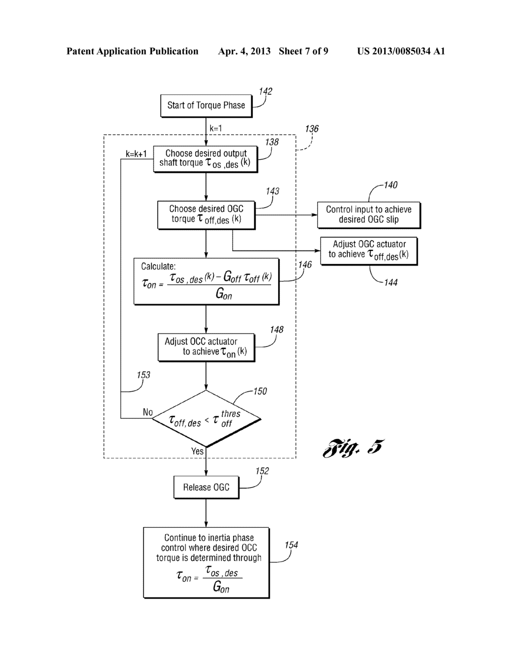 Ratio Shift Control System And Method For A Multiple-Ratio Automatic     Transmission - diagram, schematic, and image 08