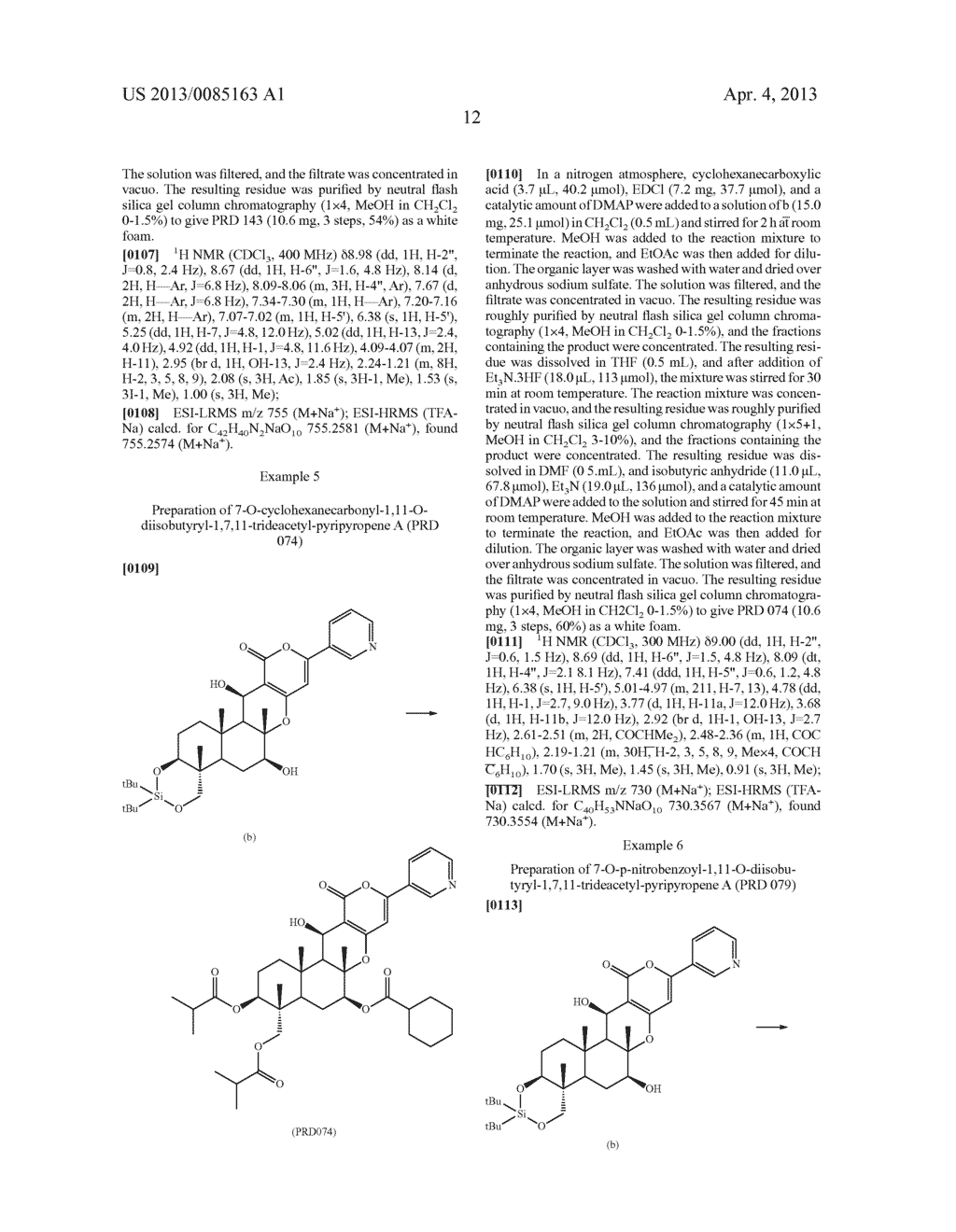 Pyripyropene Derivative Having ACAT2 Inhibiting Activity and Stable to     Metabolizing Enzymes - diagram, schematic, and image 13