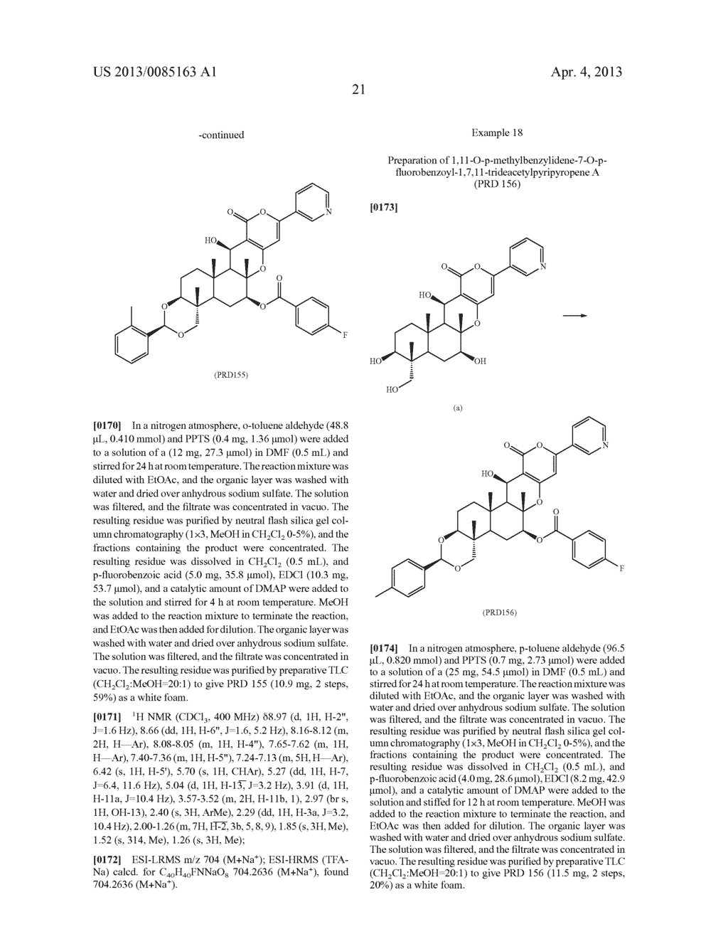 Pyripyropene Derivative Having ACAT2 Inhibiting Activity and Stable to     Metabolizing Enzymes - diagram, schematic, and image 22