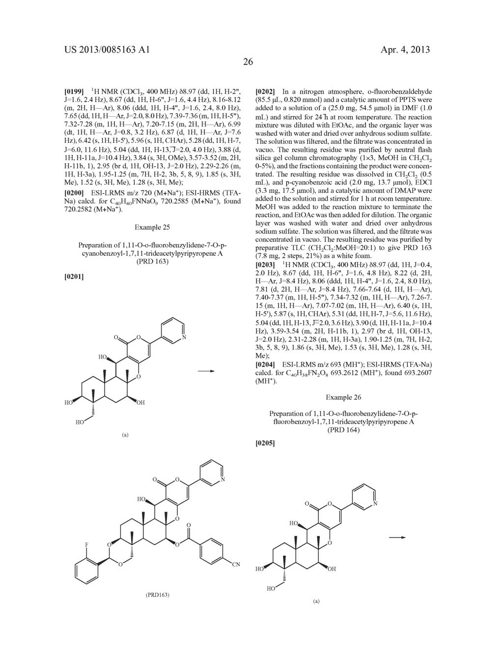 Pyripyropene Derivative Having ACAT2 Inhibiting Activity and Stable to     Metabolizing Enzymes - diagram, schematic, and image 27