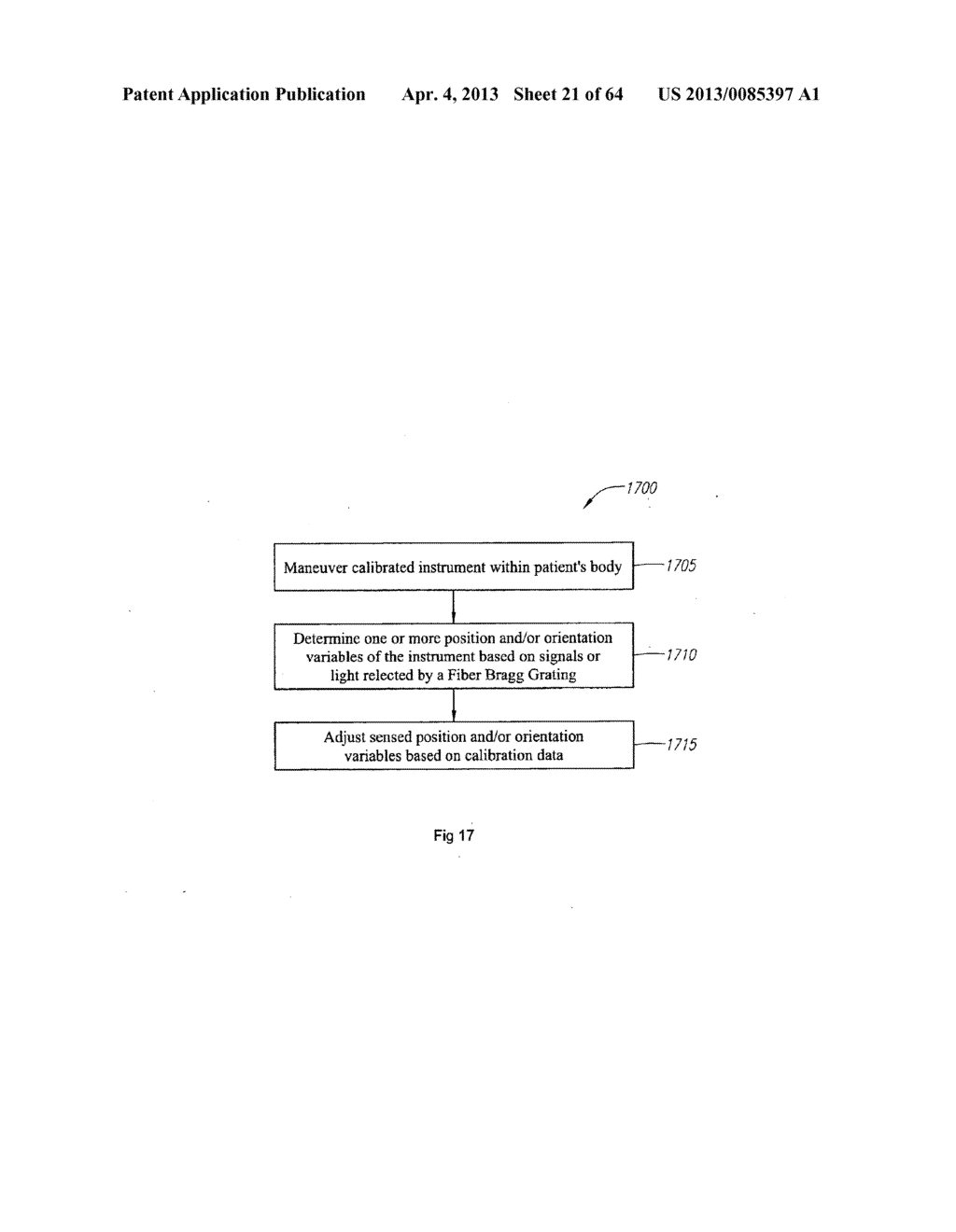 OPTICAL FIBER INSTRUMENT SYSTEM AND METHOD WITH MOTION-BASED ADJUSTMENT - diagram, schematic, and image 22