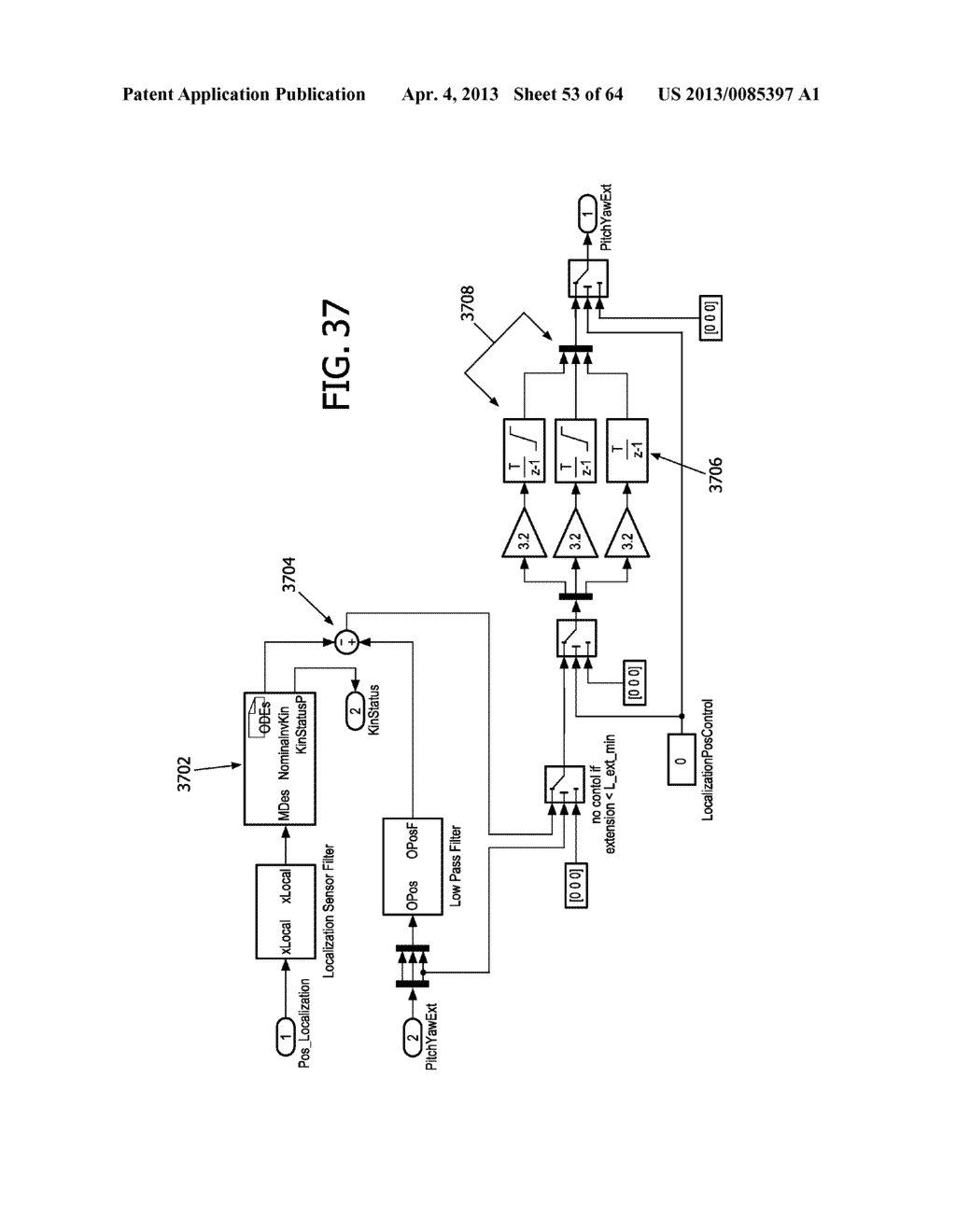 OPTICAL FIBER INSTRUMENT SYSTEM AND METHOD WITH MOTION-BASED ADJUSTMENT - diagram, schematic, and image 54