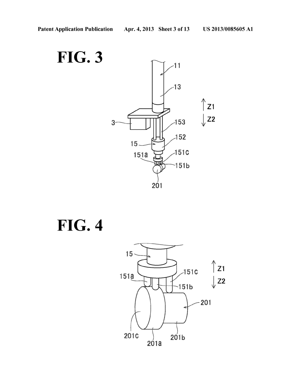 ROBOT SYSTEM AND METHOD FOR PRODUCING A TO-BE-PROCESSED MATERIAL - diagram, schematic, and image 04