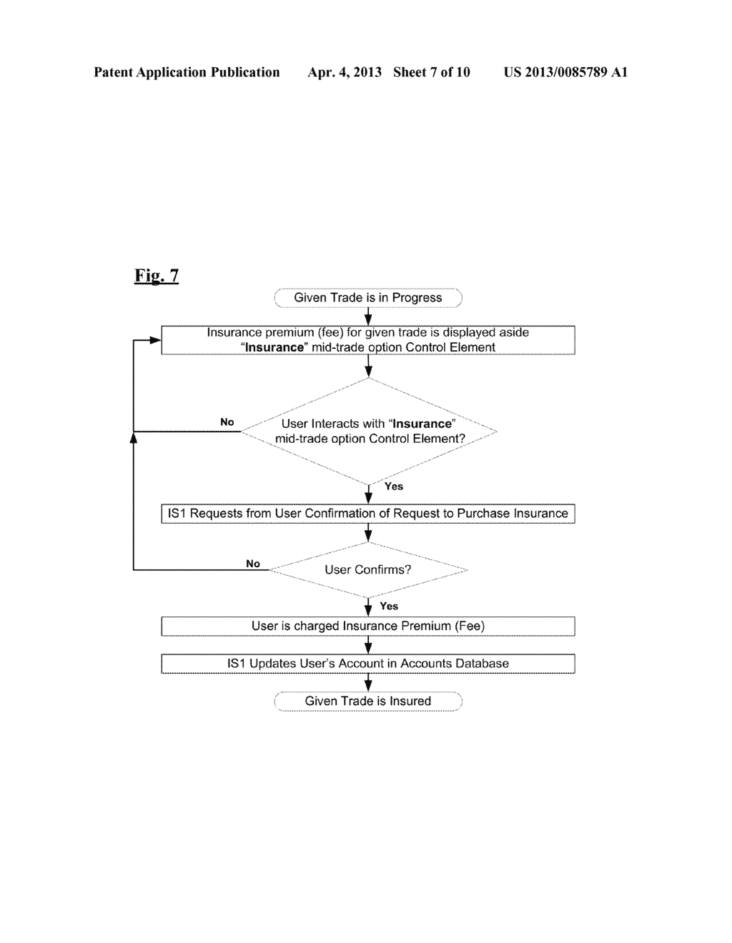 System and Method for Providing a Platform for the Trade of Financial     Instruments - diagram, schematic, and image 08