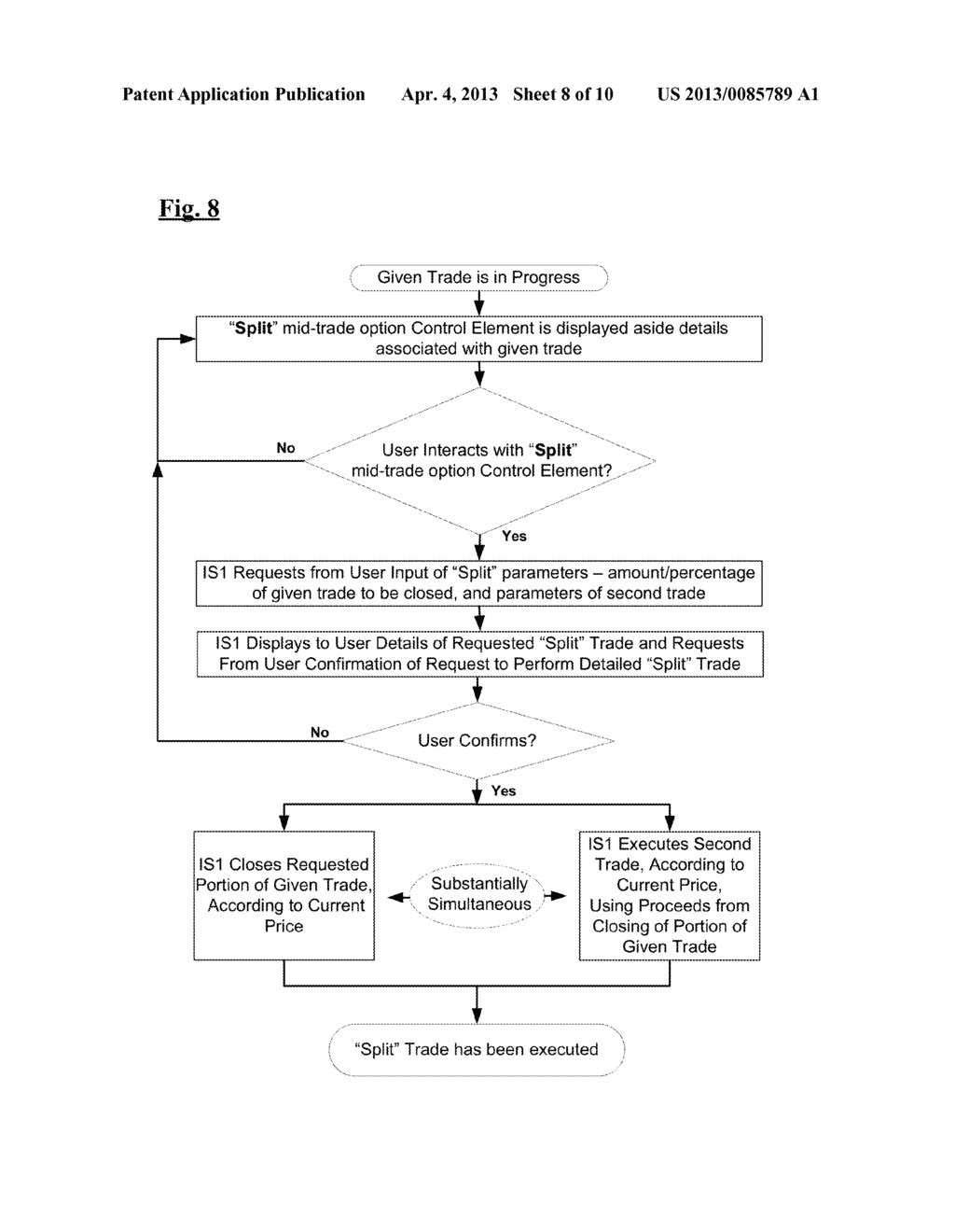 System and Method for Providing a Platform for the Trade of Financial     Instruments - diagram, schematic, and image 09