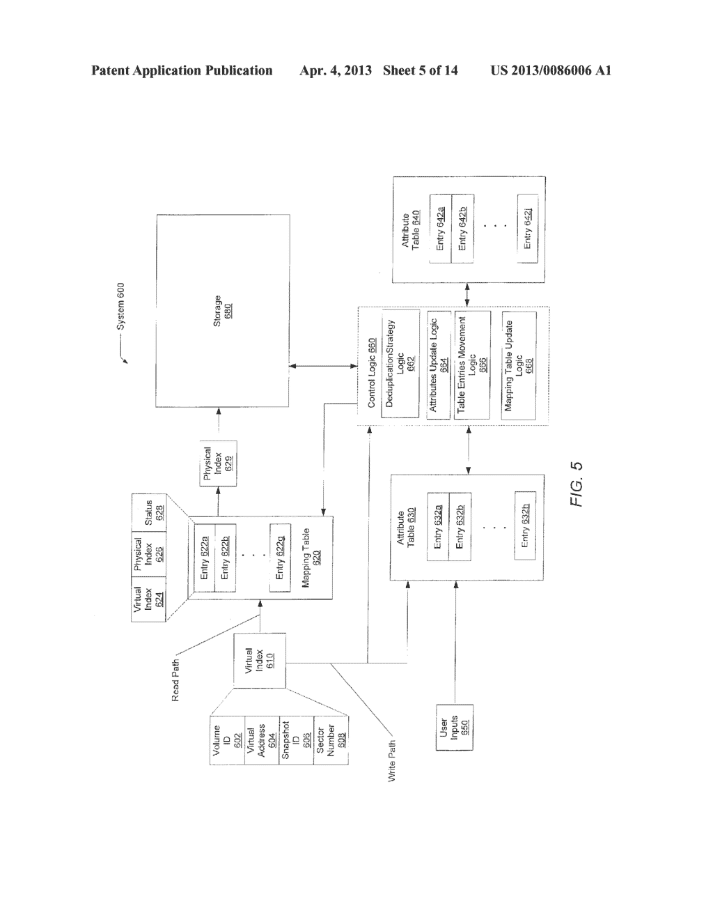METHOD FOR REMOVING DUPLICATE DATA FROM A STORAGE ARRAY - diagram, schematic, and image 06
