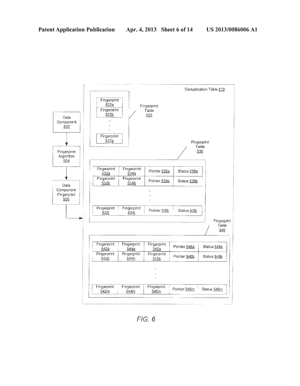 METHOD FOR REMOVING DUPLICATE DATA FROM A STORAGE ARRAY - diagram, schematic, and image 07