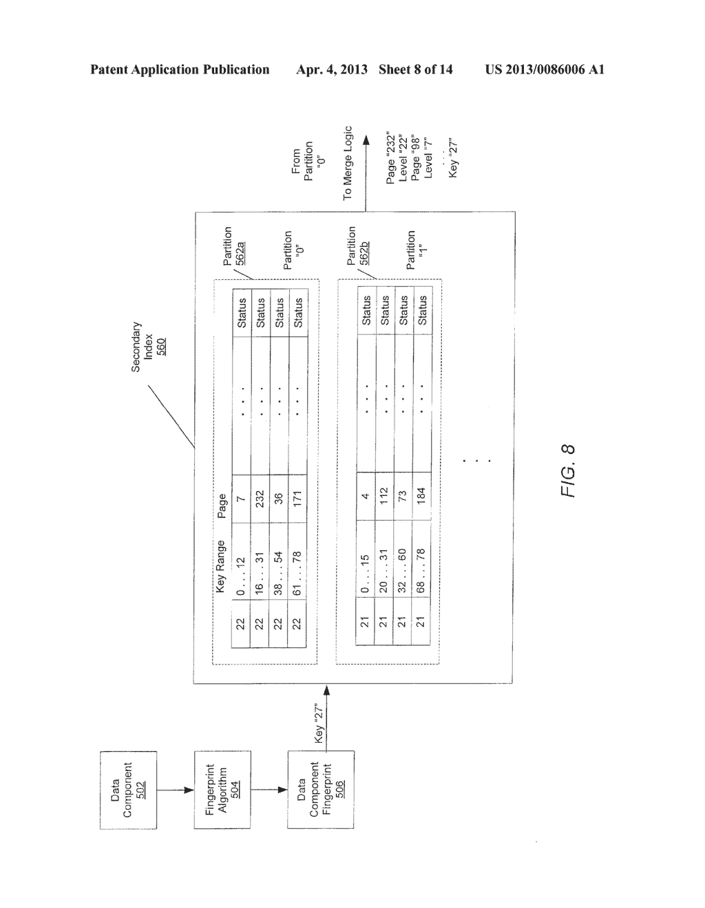 METHOD FOR REMOVING DUPLICATE DATA FROM A STORAGE ARRAY - diagram, schematic, and image 09