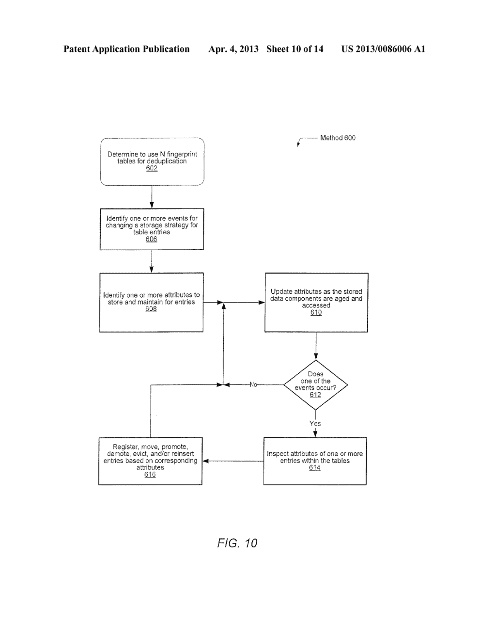 METHOD FOR REMOVING DUPLICATE DATA FROM A STORAGE ARRAY - diagram, schematic, and image 11