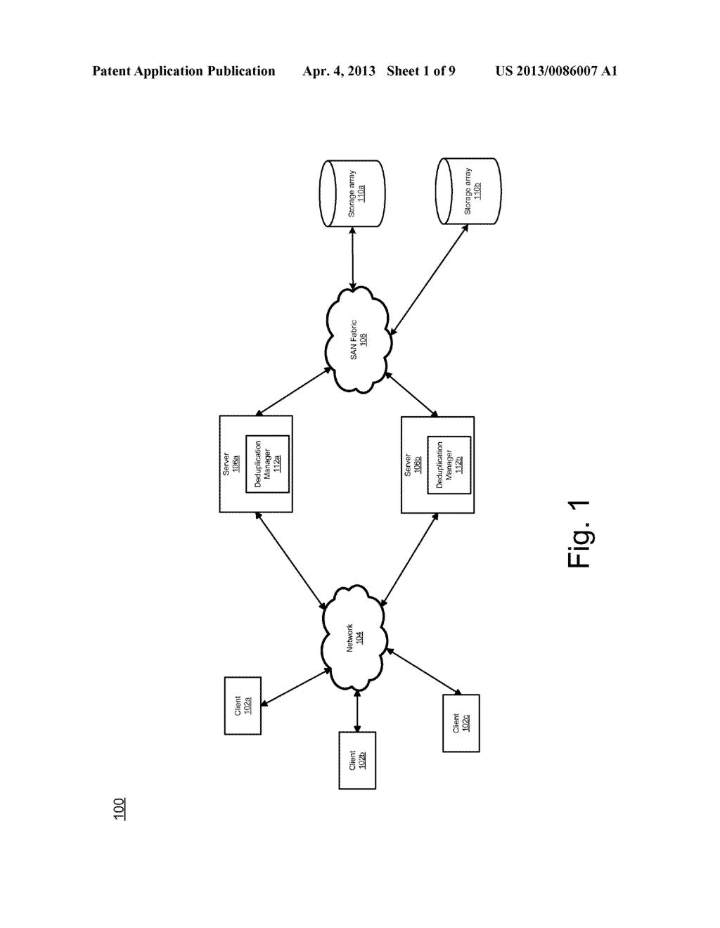 SYSTEM AND METHOD FOR FILESYSTEM DEDUPLICATION USING VARIABLE LENGTH     SHARING - diagram, schematic, and image 02