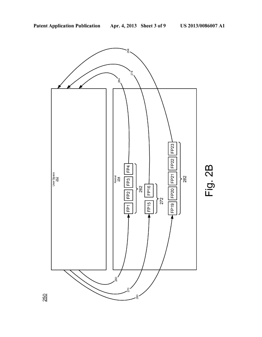 SYSTEM AND METHOD FOR FILESYSTEM DEDUPLICATION USING VARIABLE LENGTH     SHARING - diagram, schematic, and image 04