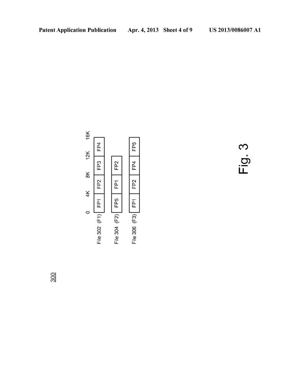 SYSTEM AND METHOD FOR FILESYSTEM DEDUPLICATION USING VARIABLE LENGTH     SHARING - diagram, schematic, and image 05
