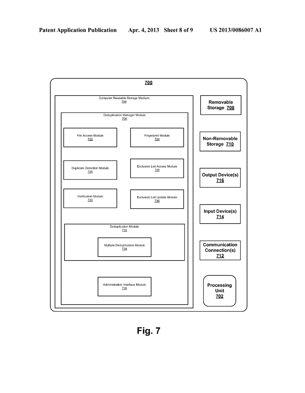 SYSTEM AND METHOD FOR FILESYSTEM DEDUPLICATION USING VARIABLE LENGTH     SHARING - diagram, schematic, and image 09