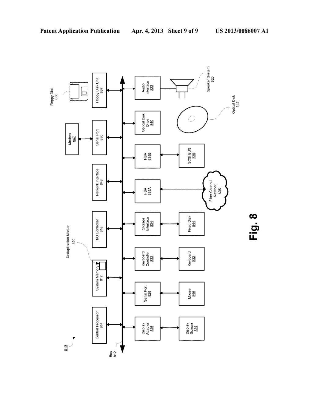 SYSTEM AND METHOD FOR FILESYSTEM DEDUPLICATION USING VARIABLE LENGTH     SHARING - diagram, schematic, and image 10
