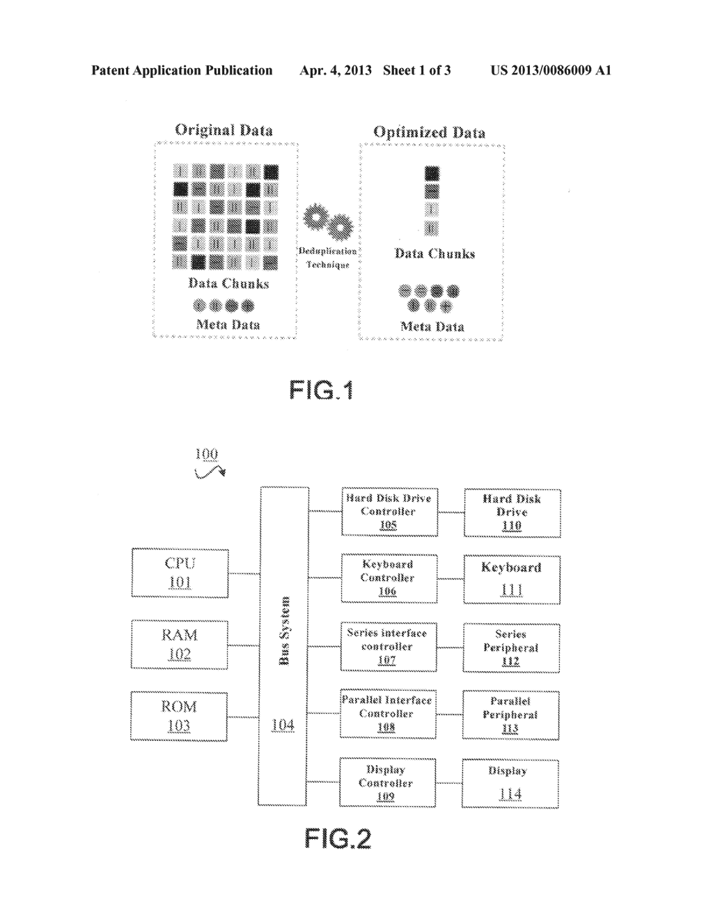 METHOD AND SYSTEM FOR DATA DEDUPLICATION - diagram, schematic, and image 02