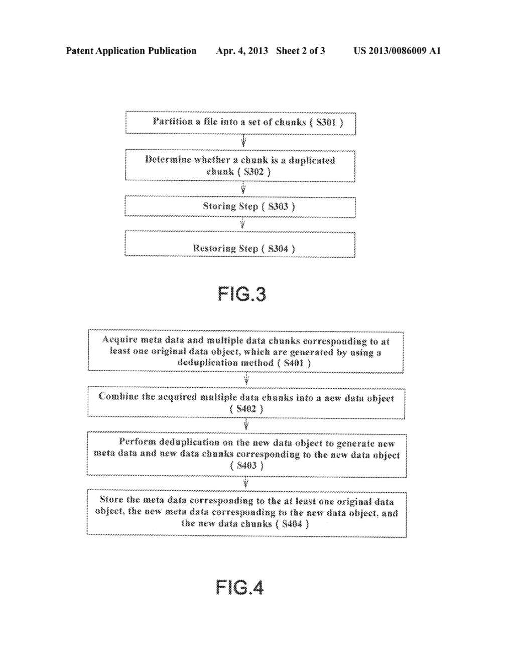 METHOD AND SYSTEM FOR DATA DEDUPLICATION - diagram, schematic, and image 03