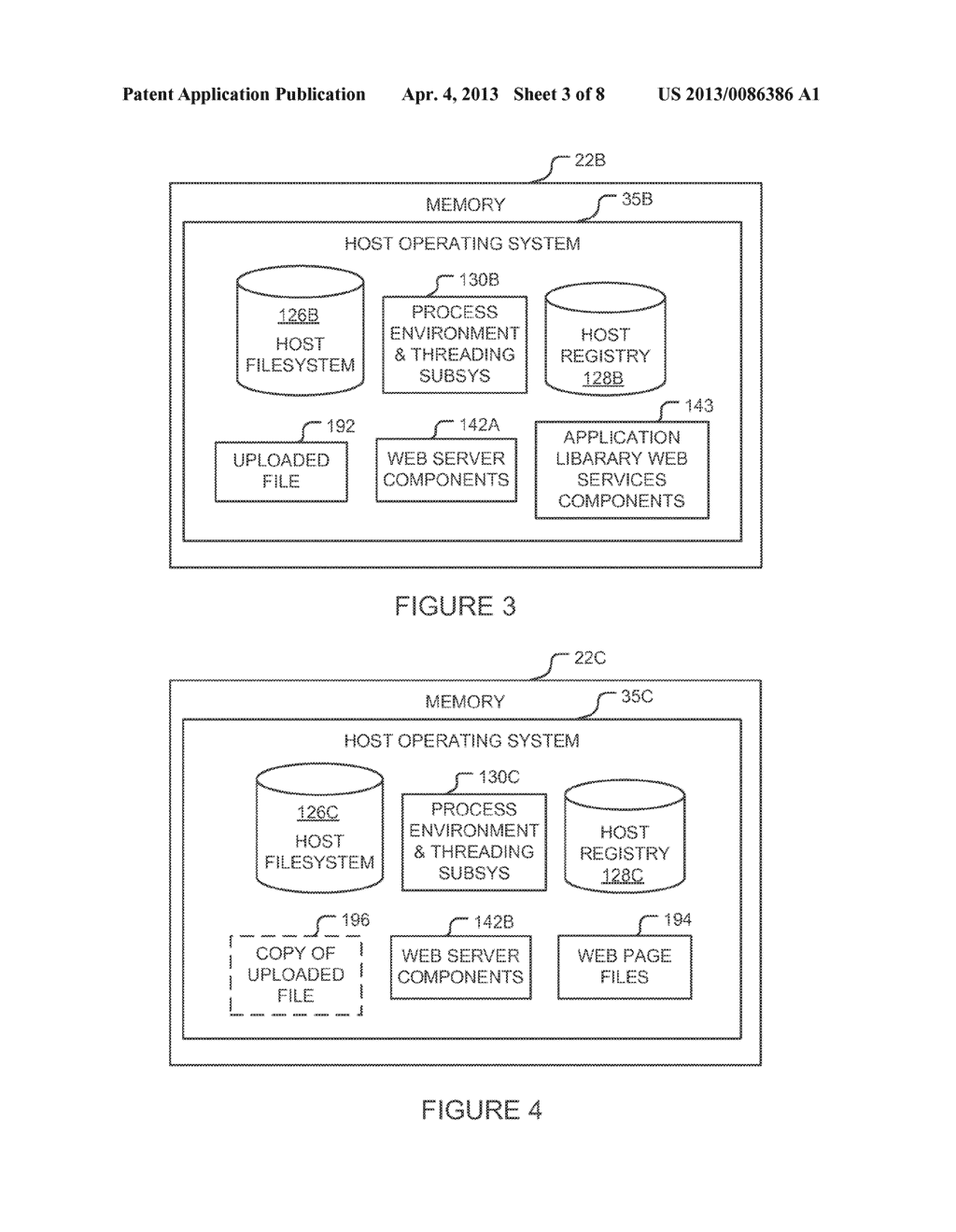 METHOD AND SYSTEM FOR RESTRICTING EXECUTION OF VIRTUAL APPLICATIONS TO A     MANAGED PROCESS ENVIRONMENT - diagram, schematic, and image 04