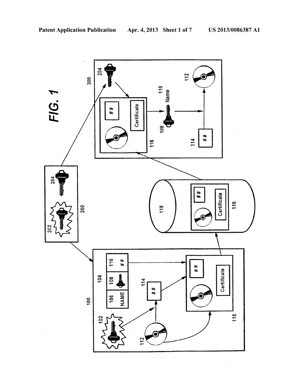 Method for Certifying and Verifying Digital Web Content Using Public     Cryptography - diagram, schematic, and image 02