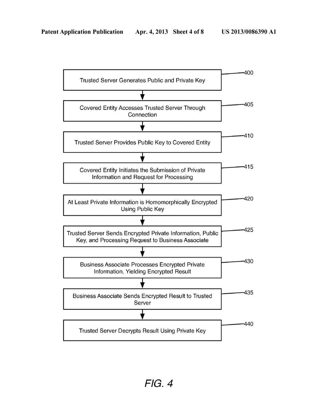 System and Method of Securing Private Health Information - diagram, schematic, and image 05