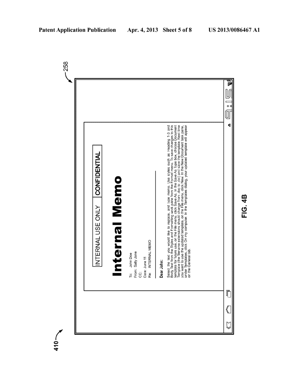 SYSTEM FOR SENDING A FILE FOR VIEWING ON A MOBILE DEVICE - diagram, schematic, and image 06