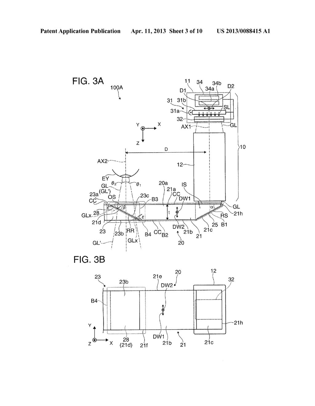 VIRTUAL IMAGE DISPLAY DEVICE AND MANUFACTURING METHOD OF VIRTUAL IMAGE     DISPLAY DEVICE - diagram, schematic, and image 04