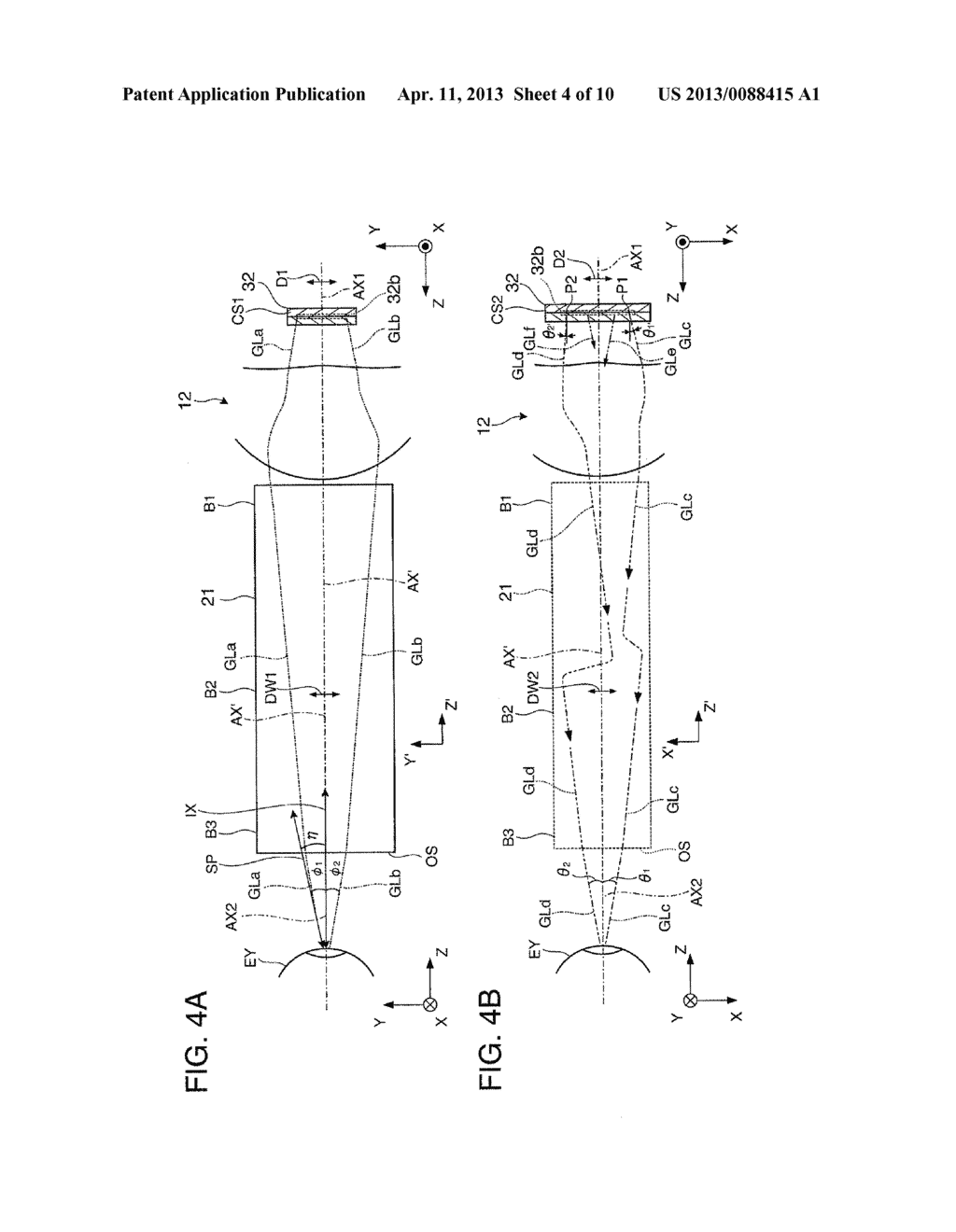 VIRTUAL IMAGE DISPLAY DEVICE AND MANUFACTURING METHOD OF VIRTUAL IMAGE     DISPLAY DEVICE - diagram, schematic, and image 05