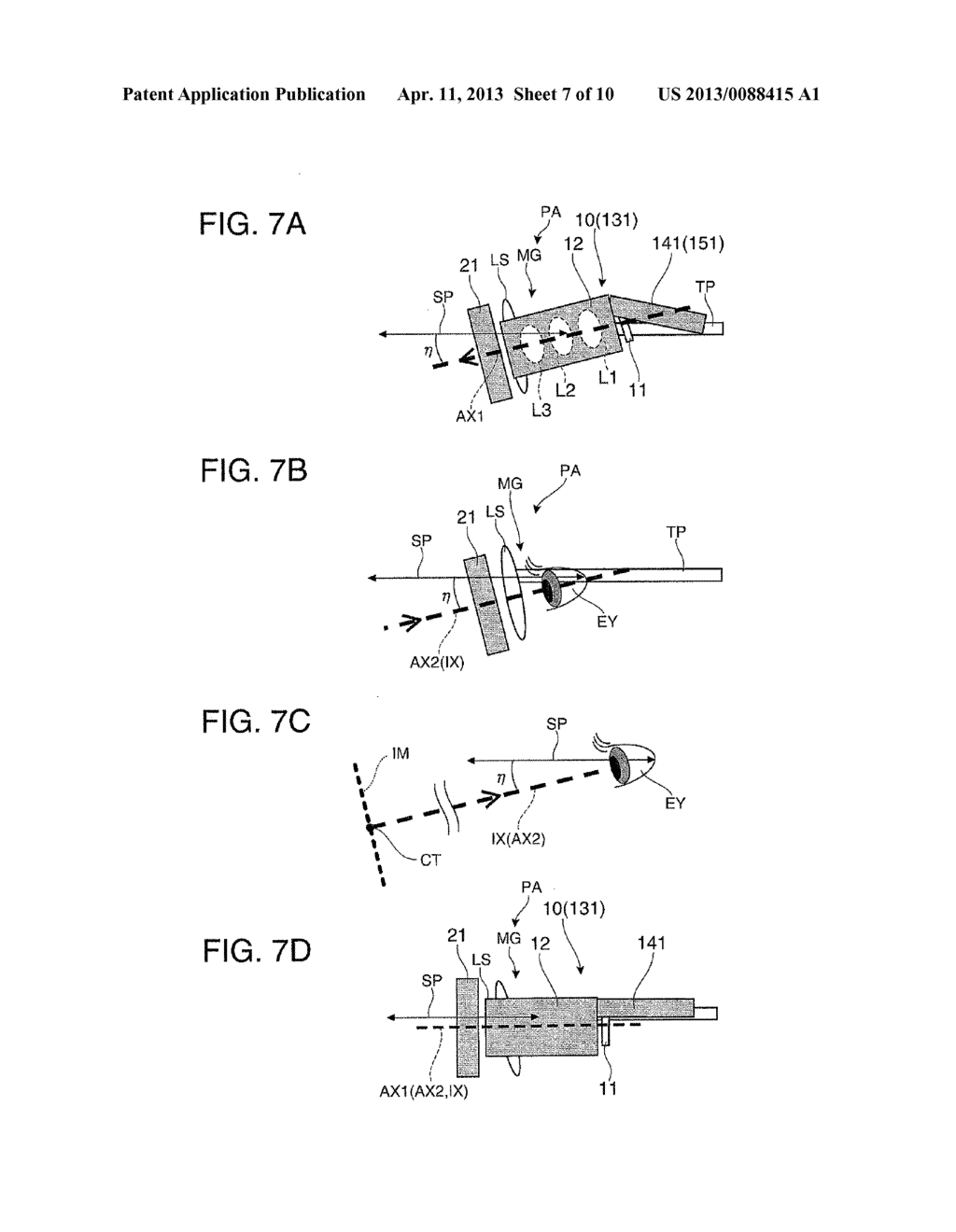 VIRTUAL IMAGE DISPLAY DEVICE AND MANUFACTURING METHOD OF VIRTUAL IMAGE     DISPLAY DEVICE - diagram, schematic, and image 08