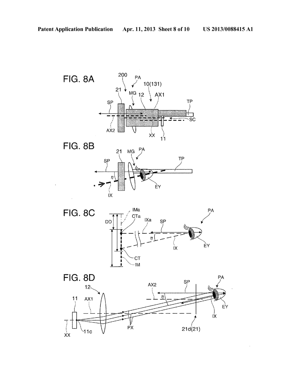 VIRTUAL IMAGE DISPLAY DEVICE AND MANUFACTURING METHOD OF VIRTUAL IMAGE     DISPLAY DEVICE - diagram, schematic, and image 09