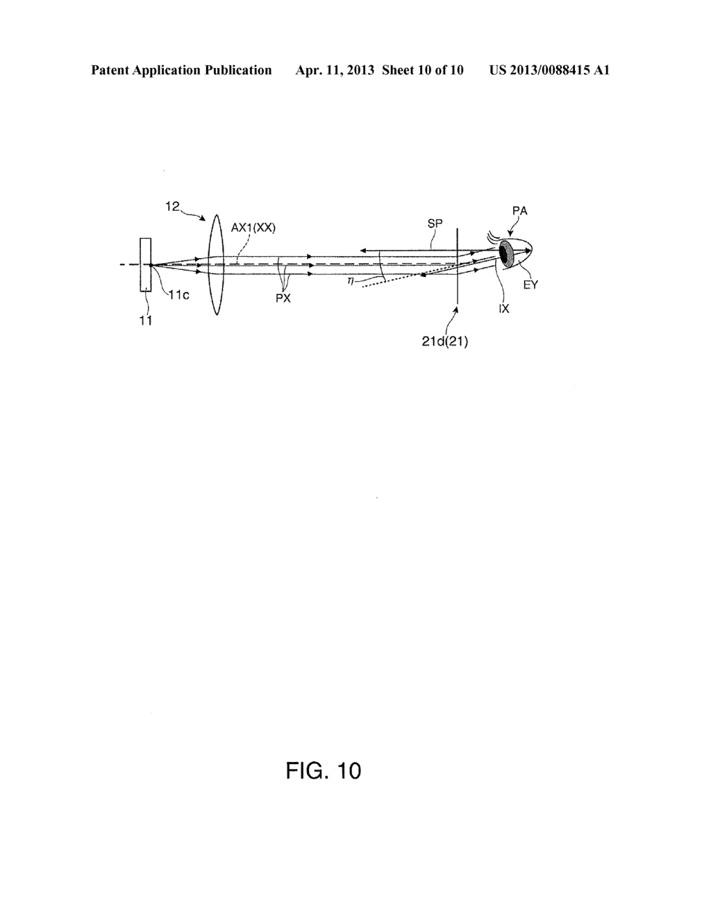 VIRTUAL IMAGE DISPLAY DEVICE AND MANUFACTURING METHOD OF VIRTUAL IMAGE     DISPLAY DEVICE - diagram, schematic, and image 11