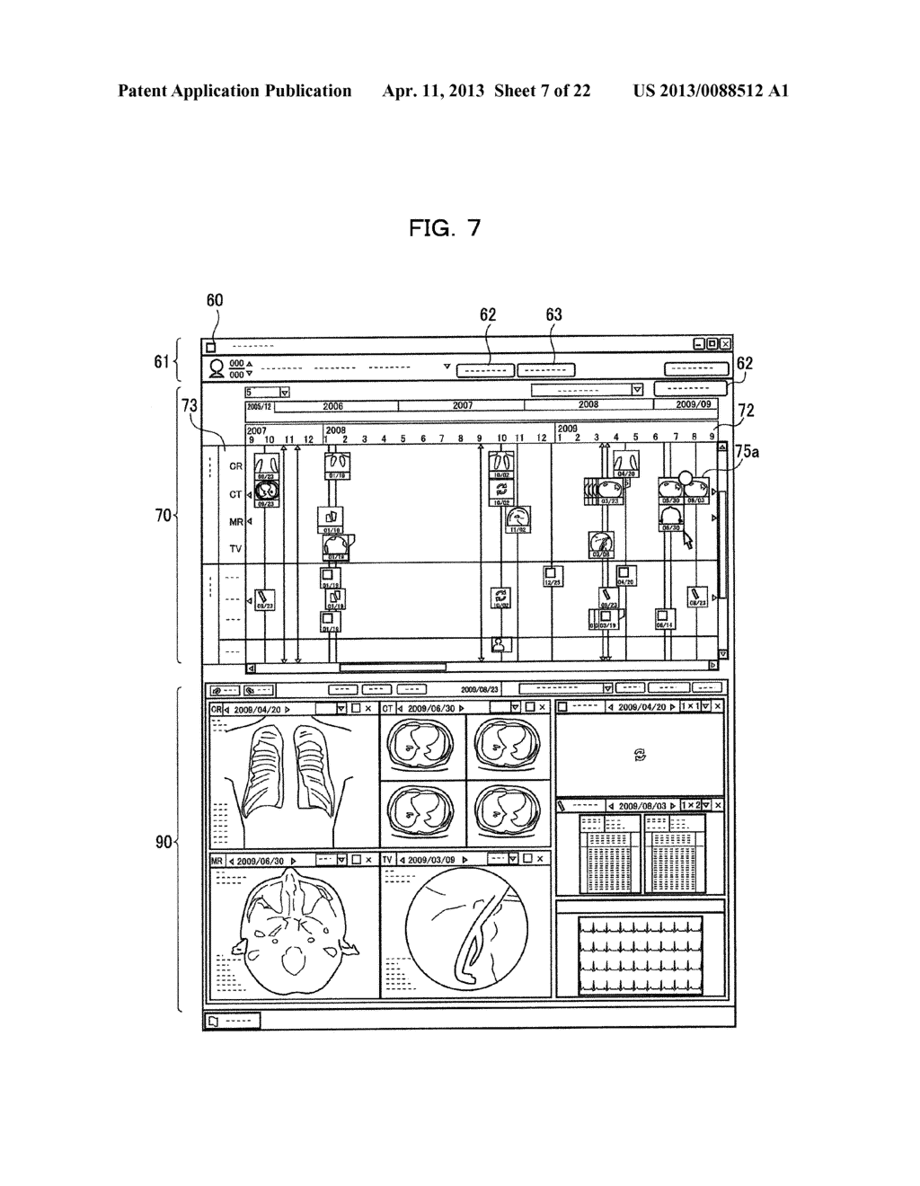 EXAMINATION INFORMATION DISPLAY DEVICE AND METHOD - diagram, schematic, and image 08