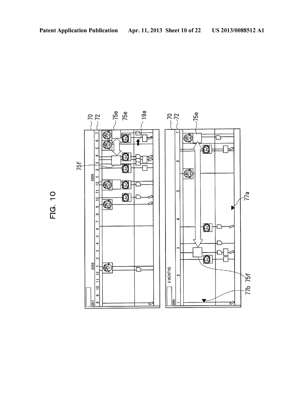 EXAMINATION INFORMATION DISPLAY DEVICE AND METHOD - diagram, schematic, and image 11