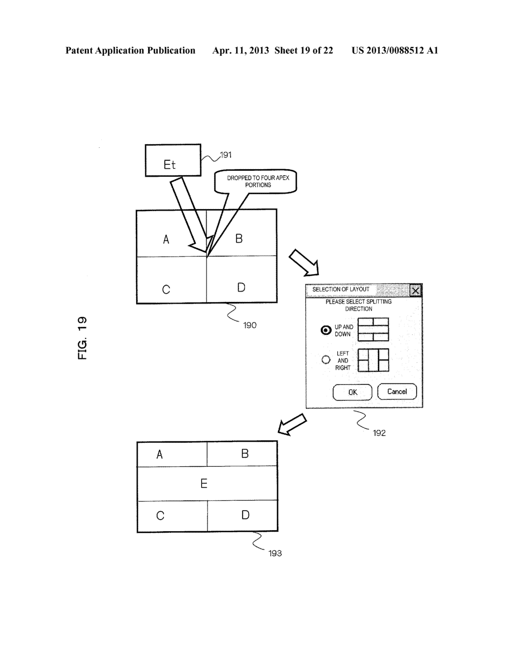 EXAMINATION INFORMATION DISPLAY DEVICE AND METHOD - diagram, schematic, and image 20